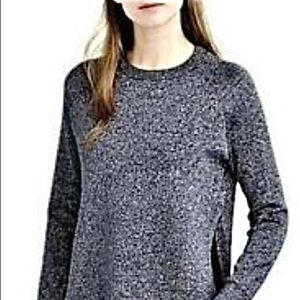NWT JCrew Lurex Sparkle classic crewneck sweater